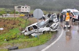 Gaziantep'te feci kaza: 4 ölü, 12 yaralı