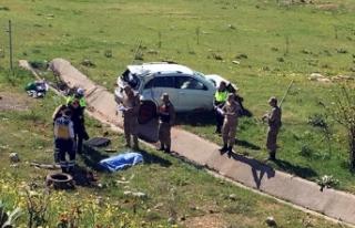 Gaziantep'te trafik kazası: 1 ölü, 3 yaralı