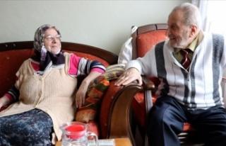 Hastalıkta ve sağlıkta 61 yıldır birlikteler