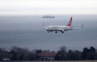 Hava yoluyla 3 ayda 41,4 milyon yolcu taşındı