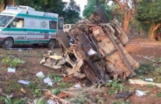 Hindistan'da siyasi parti konvoyuna bombalı saldırı:...