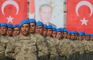 Jandarma uzman erbaşlar terörle mücadele için...