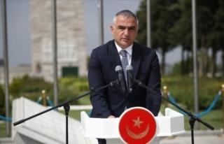 Kültür ve Turizm Bakanı Ersoy: Mehmetçik insanlık...