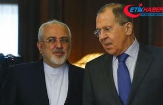 Lavrov İranlı mevkidaşı Zarif ile Suriye meselesini...
