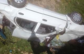 Malatya'da otomobil şarampole devrildi: 1 ölü,...
