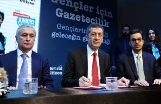 MEB-TRT iş birliğiyle lise öğrencilerine gazetecilik...