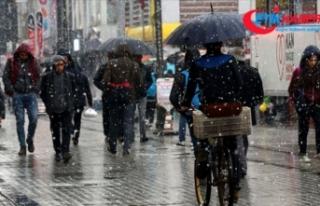 Meteorolojiden 4 il için kar yağışı uyarısı