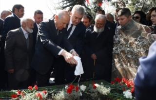 MHP Lideri Bahçeli: Başbuğ'umuz Alparslan Türkeş...