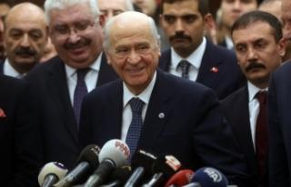 MHP Lideri Bahçeli: CHP Genel Başkanı milli güvenliğe...