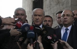 MHP Lideri Bahçeli'den İstanbul seçimleri...
