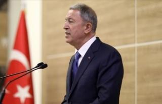 Milli Savunma Bakanı Akar: Gayri askeri adaların...