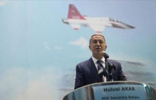 Milli Savunma Bakanı Akar: Terör örgütüne büyük...