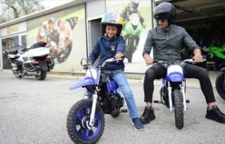 Minik Yahya'nın motosiklet hayalini Sofuoğlu...