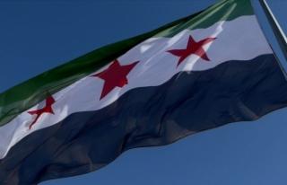 Barış Pınarı Harekatı'nda Suriye Milli Ordusu'ndan...