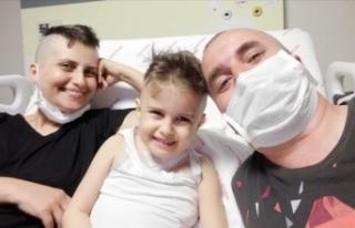 'Öykü Arin hastalığını yenecek, sağlığına...