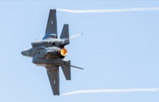 Pasifik üzerinde düşen F-35 uçağı acil durum...