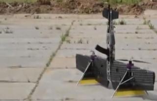 Rus şirket 'drone kalaşnikof'un görüntülerini...