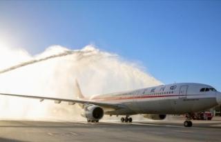 Sichuan Havayolları, İstanbul'a uçuş başlattı
