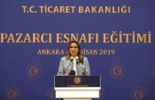 Ticaret Bakanı Pekcan: Pazarcı esnafına yönelik...