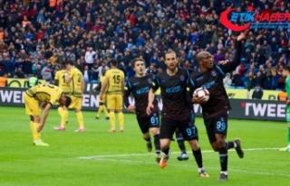 Trabzonspor seriyi sürdürdü
