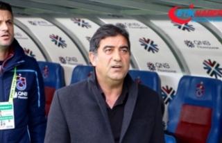 Trabzonspor Teknik Direktörü Karaman: Şu andan...