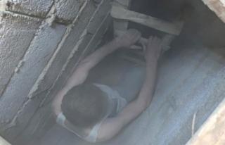 Van'daki depremde cezaevinden firar etti, evindeki...