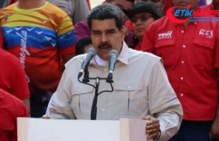 Venezuela lideri Maduro: Halkı, vatanı ve anayasal...