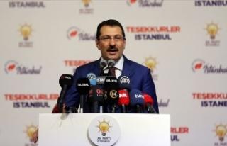 Yavuz: AK Parti lehine düzeltilen ve kayda geçen...