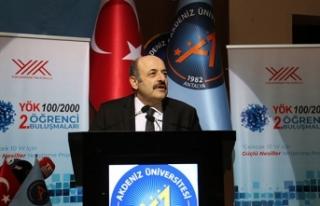 YÖK Başkanı Saraç: Doktoralı insan kaynağımızı...