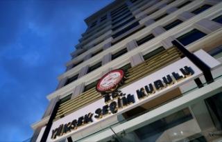 YSK'dan Ankara'nın 13 ilçesinde oyların...