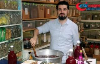 6 asırlık tarifle Osmanlı şerbeti kaynatıyor