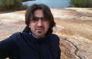 AA muhabiri Abdulkadir Nişancı'nın ayakkabısı...