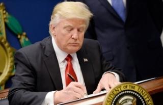 ABD Başkanı Trump İran'a yaptırımları imzaladı