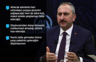 Adalet Bakanı Gül: Yargı Reformu 82 milyonundur