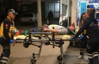Alkollü sürücü kaza yaptı, yaralanan arkadaşını...