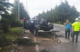 Balıkesir'de kamyonet takla attı: 5 yaralı
