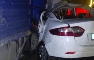 Batman'daki trafik kazasında 6 kişi yaralandı...