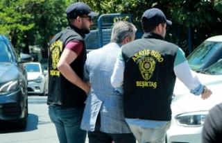 Beşiktaş'ta çalışanlarını döven kişi...
