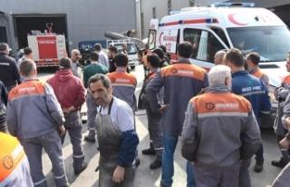 Bursa'da boya fabrikasında patlama: 1'i...