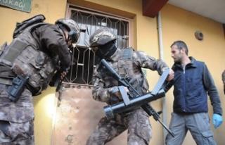Bursa'da sosyal medyada terör operasyonu: 16...