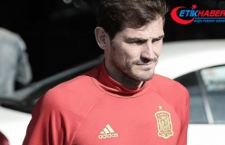 Casillas taburcu edildi