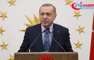 Cumhurbaşkanı Erdoğan: Güçlü milletler güçlü...