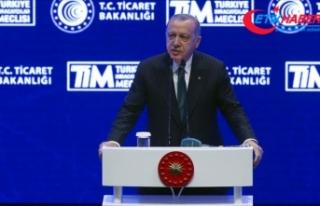 Cumhurbaşkanı Erdoğan: İhracatımız %5,4 artarak...