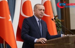 Cumhurbaşkanı Erdoğan: Terör örgütüyle el ele...