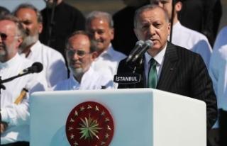 Cumhurbaşkanı Erdoğan: İbadet mekanlarını bombalamanın...