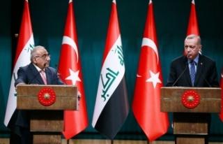 Cumhurbaşkanı Erdoğan: Irak ile askeri iş birliği...