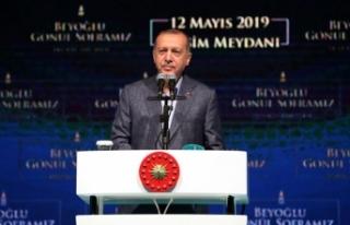 Cumhurbaşkanı Erdoğan: İstanbul halkı 23 Haziran'da...