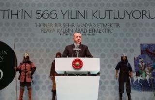 Cumhurbaşkanı Erdoğan: İstanbul'u kaybetmenin...