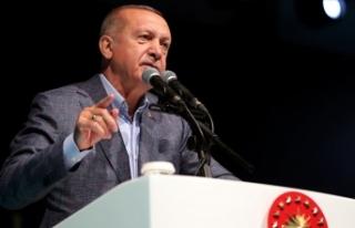 Cumhurbaşkanı Erdoğan: Sürekli yeni insanlar kazanarak...