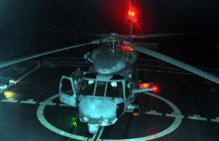 'Denizkurdu-2019'da üçüncü gün; Helikopterler...